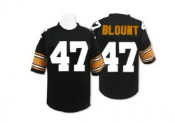 Mitchell and Ness Mel Blount Pittsburgh Steelers Authentic Black Mitchell And Ness Team Color Throwback Jersey - Men's