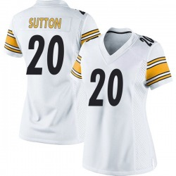 Nike Cameron Sutton Pittsburgh Steelers Game White Jersey - Women's