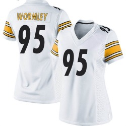 Nike Chris Wormley Pittsburgh Steelers Game White Jersey - Women's