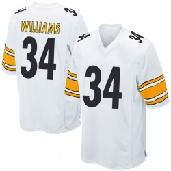 Nike DeAngelo Williams Pittsburgh Steelers Game White Jersey - Men's