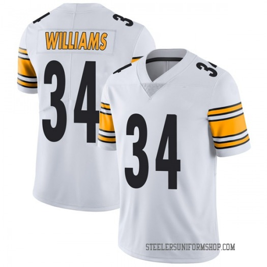 Nike DeAngelo Williams Pittsburgh Steelers Limited White Vapor Untouchable Jersey - Men's