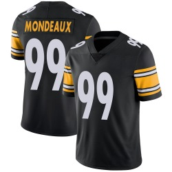 Nike Henry Mondeaux Pittsburgh Steelers Limited Black Team Color Vapor Untouchable Jersey - Youth