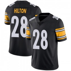 Nike Mike Hilton Pittsburgh Steelers Limited Black Team Color Vapor Untouchable Jersey - Youth