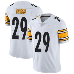 Nike Ralph Webb Pittsburgh Steelers Limited White Vapor Untouchable Jersey - Youth