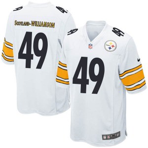 Nike Christian Scotland-Williamson Pittsburgh Steelers Game White Jersey - Youth