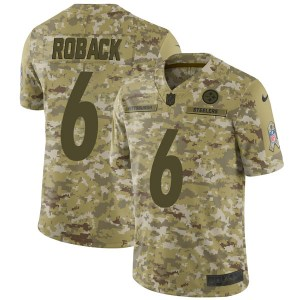 Nike Brogan Roback Pittsburgh Steelers Limited Camo 2018 Salute to Service Jersey - Youth