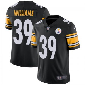 Nike Malik Williams Pittsburgh Steelers Limited Black Team Color Vapor Untouchable Jersey - Youth