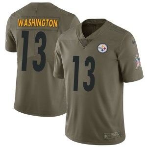Nike James Washington Pittsburgh Steelers Limited Green 2017 Salute to Service Jersey - Youth