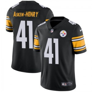 Nike Dravon Askew-Henry Pittsburgh Steelers Limited Black Team Color Vapor Untouchable Jersey - Men's