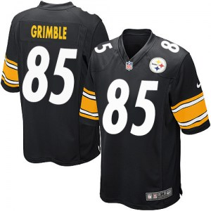 Nike Xavier Grimble Pittsburgh Steelers Game Black Team Color Jersey - Men's