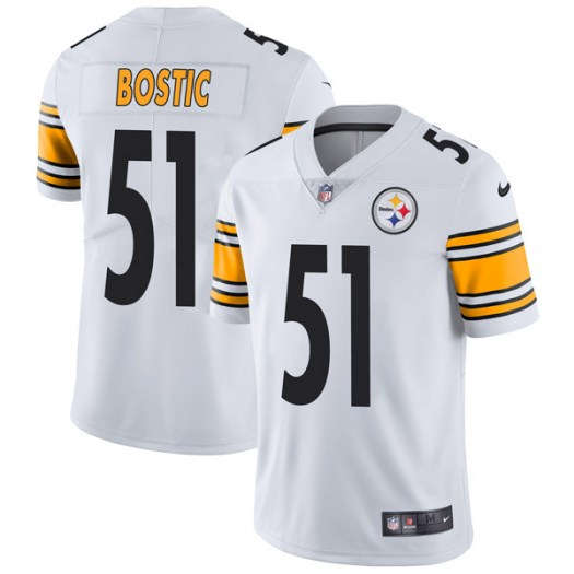 quality design 004ab c4fee Nike Jon Bostic Pittsburgh Steelers Limited White Vapor Untouchable Jersey  - Youth