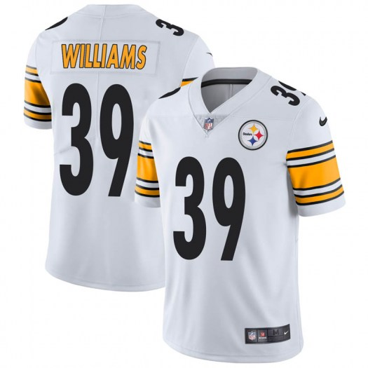 Nike Malik Williams Pittsburgh Steelers Limited White Vapor Untouchable Jersey - Youth