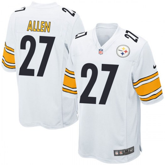 Nike Marcus Allen Pittsburgh Steelers Game White Jersey - Youth