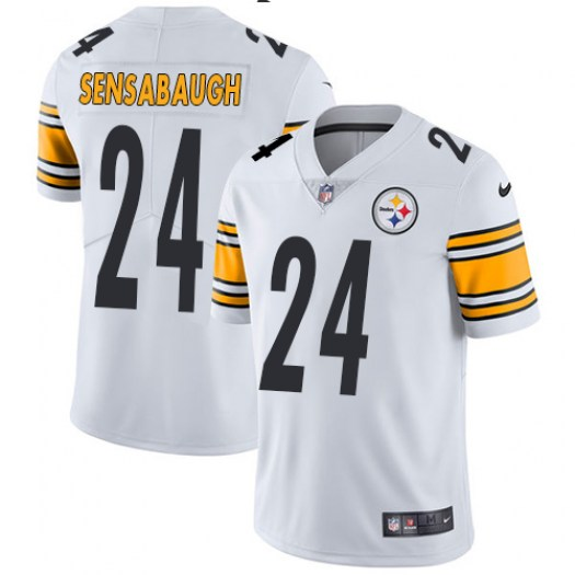 Nike Coty Sensabaugh Pittsburgh Steelers Limited White Vapor Untouchable Player Jersey - Youth