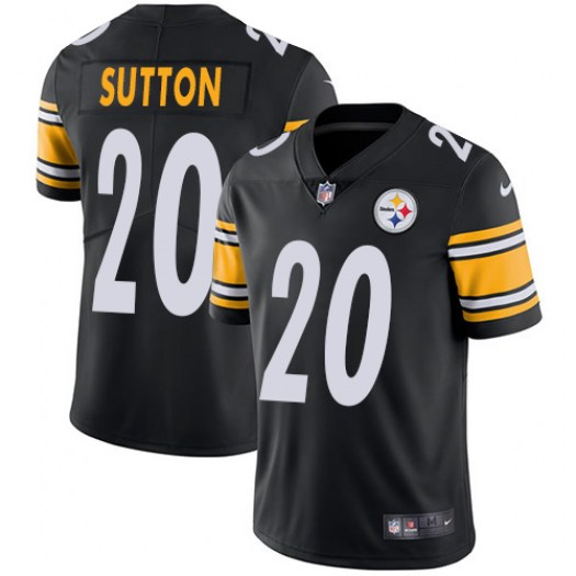 Nike Cameron Sutton Pittsburgh Steelers Limited Black Team Color Jersey - Youth